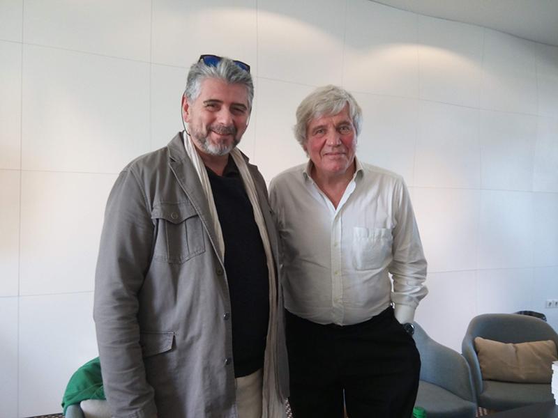Hervé Michel et Bruno Masure